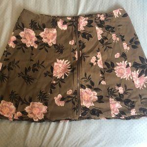 Floral American Eagle Skirt